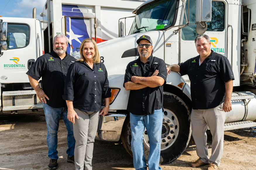 RRRTX-Residential Recycling and Refuse of Texas Russell, Carleen, Rodney and Hans Team Members