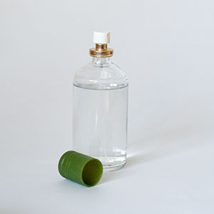 Glass perfume bottle RRRTX recycling services