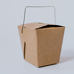 Paper board Chinese take out box