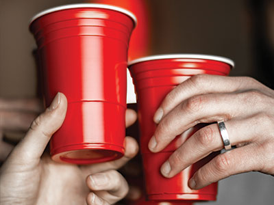 Plastic Red Cups RRRTX Recycling Services