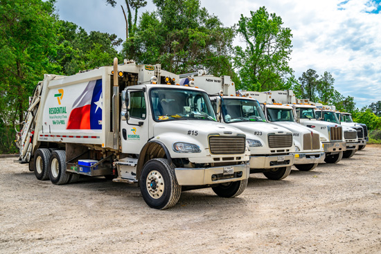 Residential Recycling and Refuse Magnolia residential service pick up